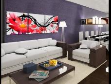 家具无框画