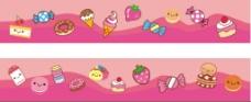 卡通糖果装饰墙