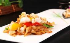 鲍鱼菇炒鲍鱼图片