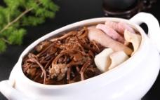 茶树菇炖螺头图片