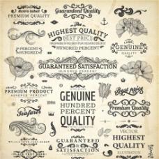 欧美花纹图标图片