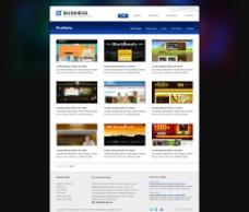 商务网站模板图片