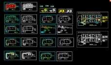 某监管分局大楼改造施工设计施工CAD