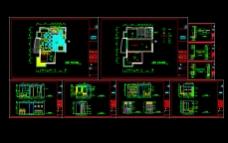 室内装修装饰CAD施工方案图