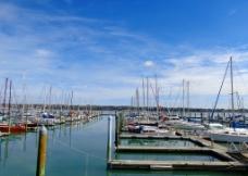新西兰码头风光图片