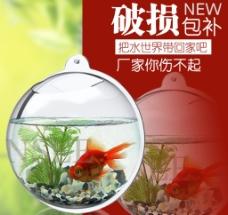 鱼缸创意直通车主图设