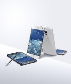 三星曲面侧屏手机