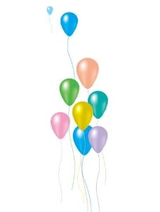 气球 五彩
