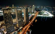 新加坡 优美夜景图片