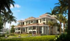 热带别墅图片