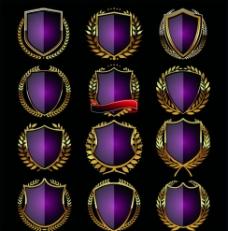 盾牌标签图片