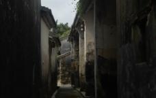 深圳鹤薮古村老街巷子图片