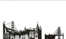 黑白建筑图片