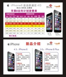 iPhone6合约资费表