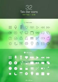 iOS7/8风图标图片