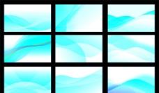 蓝色背景 蓝色流动纹图片