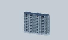 现代小高层住宅楼图片