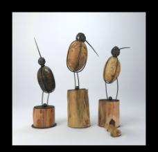 鸟雕塑 陈列品图片