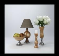 花瓶 台灯 烛台图片