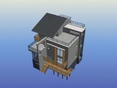 小别墅模型