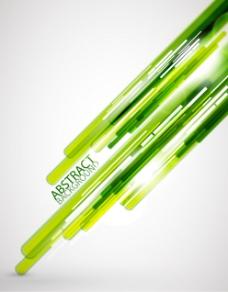 梦幻绿色草丛背景矢量素材