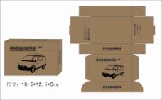 盒子设计稿 盒子展开图