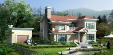 别墅洋房模型