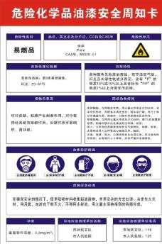 危险化学品油漆安全图片