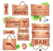 木板广告牌图片