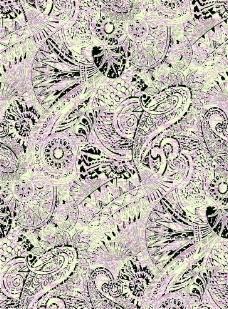 腰果花 佩斯利涡旋纹图片
