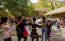 西双版纳 傣族歌舞图片