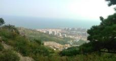 浮山南望图片