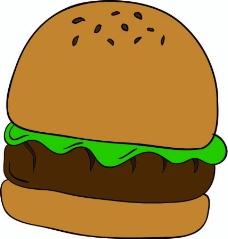 汉堡矢量图