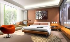 色彩室内卧室设计