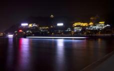 黄河兰州夜色图片