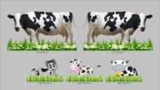 奶牛造型图片