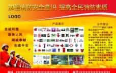 消防产品展板图片