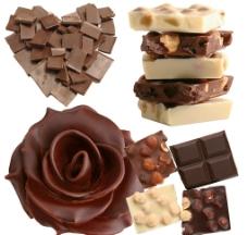 巧克力素材图片