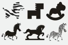 马形态图片