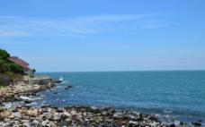 蓝色海岸图片