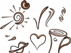 矢量咖啡素材
