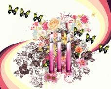 名牌香水广告图片