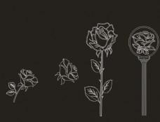 花矢量图图片