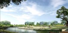 公园休闲广场环境设计图片