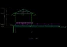 水榭凉亭结构图
