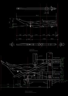 古代楼房底部支架结构图