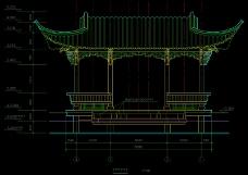 水榭结构剖析图纸