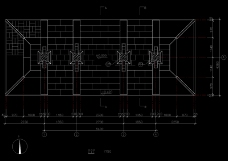 房顶俯视结构