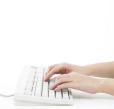 键盘打字图片