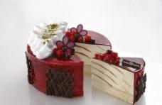 精美樱桃蛋糕图片